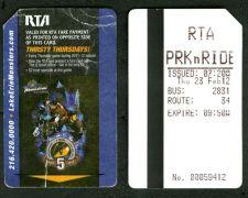 Buy Rare TRANSIT METROCARD RTA .OHIO.CLEVELAND.