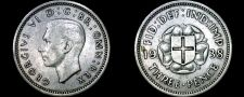 Buy 1938 Great Britain 3 Pence World Silver Coin - UK