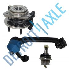 Buy Kit of 3 Wheel Hub and Bearing + Upper Left Control Arm + Lower Ball Joint - 4WD