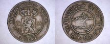 Buy 1858 Netherlands East Indies 1 Cent World Coin - Indonesia