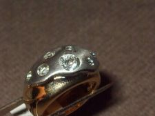 Buy Sarah Coventry Jewelry.2 Tone Silver/Gold (Continental) Ladies Ring #439