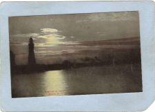 Buy New York Buffalo Lighthouse Postcard Lighthouse By Moonlight In Harbor lig~757