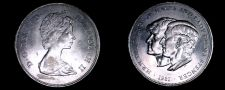 Buy 1981 Great Britain 25 New Pence World Coin - Wedding of Charles & Diana
