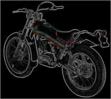 Buy MONTESA Cota 348 PARTS MANUAL w/ Detailed Exploded Diagrams for 348c Motorcycles