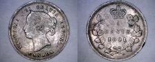 Buy 1891 Canada 5 Cent World Silver Coin - Canada - Victoria