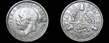 Buy 1933 Great Britain 3 Pence World Silver Coin - UK
