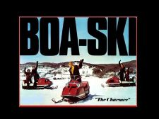 Buy BOA-SKI SNOWMOBILE PARTS MANUAL & Brochure Collection BoaSki Sled