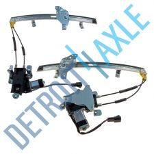 Buy Pair of 2 NEW Front Driver and Passenger Window Regulator Assembly w/ Motor Set