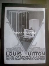 Buy Louis Vuitton Luggage Trunks Advert French 1929 Champs Elysees Paris France