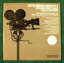 Buy General Electric / OPENING NIGHT Broadway And Hollywood ~ DOUBLE Stereo LP