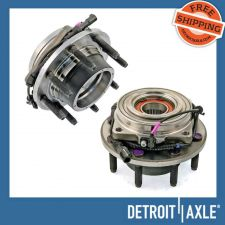 Buy Pair: New FRONT Driver and Passenger Wheel Hub Bearing Assembly - w/ ABS