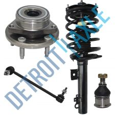 Buy Front Passenger Ready Strut + Wheel Hub Bearing + Sway Bar Link + Ball Joint