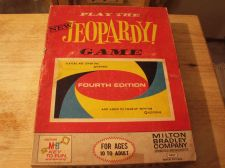 Buy Jeopardy Game Milton Bradley 1964 January Enterprises