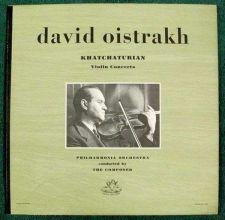 Buy KHATCHATURIAN ~ Violin Concerto / David Oistrakh Classical LP