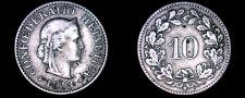 Buy 1913-B Swiss 10 Rappen World Coin - Switzerland