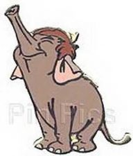 Buy Baby elephant Jungle Book full body Disney Authentic pin/pins