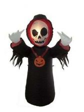 Buy 4 Foot Halloween Inflatable Grim Reaper Yard Decoration Halloween Holiday Decor