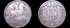 Buy 1940 Spanish 10 Centimos World Coin - Spain