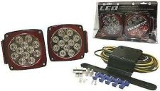 Buy Lens LED Clear Submersible Trailer Light Stop Turn Kit Watercraft Boat Marine W/