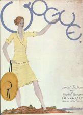 Buy Vogue 1927 Cover Print Smart Fashions by Lepape Art Deco 1984 original print