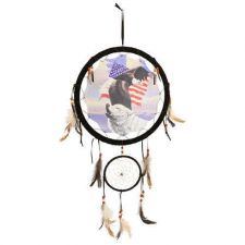 "Buy 13"" Eagle and Wolf Dream Catcher ***ON SALE***"