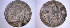 Buy 1849-ZV Italian States Venice 1 Centesimo World Coin