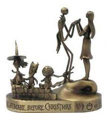 Buy Nightmare Before Christmas - Jack and Sally - LSB - Bronze - Tim Burton