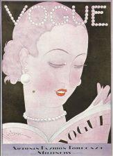 Buy Vogue 1926 Cover Print by Lepape Art Deco 1984 original print