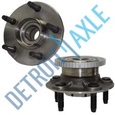 Buy NEW Pair of 2 Rear Driver and Passenger Wheel Hub and Bearing Asssembly w/ ABS