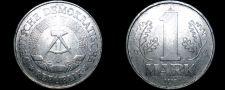Buy 1977 A German Democratic Republic 1 Mark World Coin - East Germany