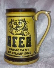 "Buy Ceramic Mug ""BEER-Breakfast of Champions"" Comedic/Vintage*Collectable*E8905"