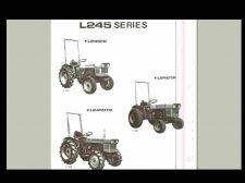Buy KUBOTA L245 L245DT L 245 PARTS & OPERATIONS MANUALs for Gas & Diesel Tractors
