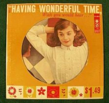 Buy HAVING WONDERFUL TIME Wish You Would Hear Columbia Pop Sampler / Die-Cut