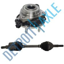 Buy Axle Shaft Front Left # 86C + Front Wheel Hub # 513188 Oldsmobile, Saab, ... AWD