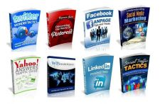 Buy 100 Social Media Ebooks With Resell Rights