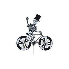 Buy Skeleton On Bicycle Garden Spinner Halloween Holiday Decor Outdoor Seasonal Toys