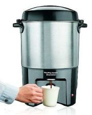 Buy Coffee Maker Urn Office Party Even Work ONE-HAND DISPENSIN Handles 40 Cup Buffet