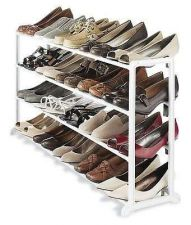 Buy Shoe Rack Storage Household Organizers Office Hanging Clothes Home Dorm Room New