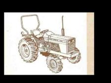 Buy MASSEY FERGUSON MF 1040 PARTS MANUAL 140pg Exploded Diagrams for MF1040 Tractors