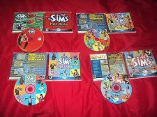 Buy THE SIMS + HOT DATE + HOUSE PARTY + LIVIN LARGE PC ALL HAVE DISCS CD CASES & ART