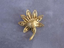 Buy Vintage Avon Gold tone Flower Brooch / Pin