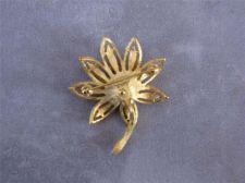 Buy Vintage Avon Gold tone Flower Brooch / Pin
