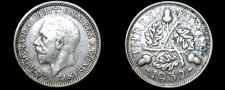 Buy 1932 Great Britain 3 Pence World Silver Coin - UK