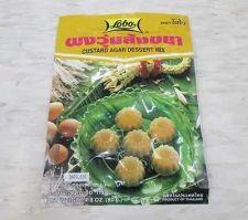 Buy LOBO Custard Agar Dessert Mix Powder Family Party Egg Custard Dessert