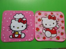 Buy Hello Kitty Baby Pink New Hand Towel Hankie Napkin Lot of 2 pieces for Dollhouse