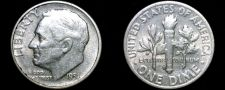 Buy 1951-S Roosevelt Dime Silver