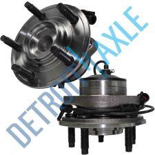 Buy Pair of 2 NEW Front Driver and Passenger Wheel Hub and Bearing 2WD w/ ABS
