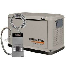 Buy Natural Gas Generac LP Standby Generator Transfer Switch Electricity 8000 Watt