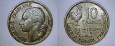 Buy 1953-B French 10 Franc World Coin - France