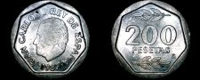 Buy 1987 Spanish 200 Peseta World Coin - Spain